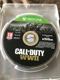 Call of duty world war 2 with 3 other games