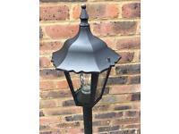 Garden aluminium light STILL AVAILABLE