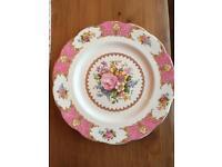 Lady Carlisle royal Albert 3 dinner plates