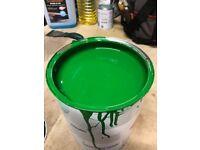 John Deere Green & Yellow Paint 5ltr & 1ltr - Enamel Fast Drying Metal Paint