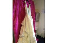 SINCERITY BRIDAL WEAR IVORY ENCRUSTED WEDDING DRESS SIZE 24 BNWT