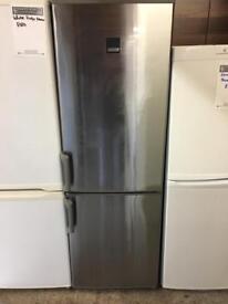 Silver zanusii fridge freezer delivered in Belfast with a 6 months warranty