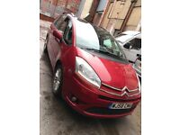 2008 58 CITROEN C4 GRAND PICASSO 7 SEATER RED METALIC LIGHT BUMP TO FRONT USED DAILY SEE PICTURES