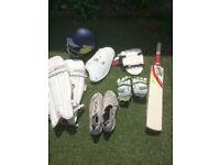 Various cricket gear