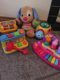 baby toddler toy bundle peppa pig..plus more