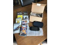 Sony PSP with games and films