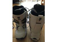 Vans snowboarding boots size 10 Andreas wiig