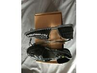 New black sandals