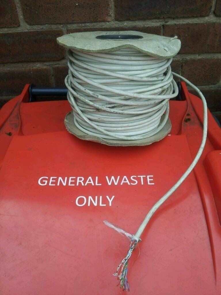 Roll of alarm cable wire | in Sutton-in-Ashfield, Nottinghamshire ...