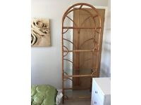 Excellent condition large bamboo shelving unit