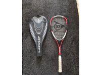 Squash racket hardly used