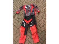 Alpinestars motocross clothing