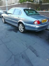 Jaguar x type saloon manuel 4 door start drive good ready to drive cheap car economic car qwick sale