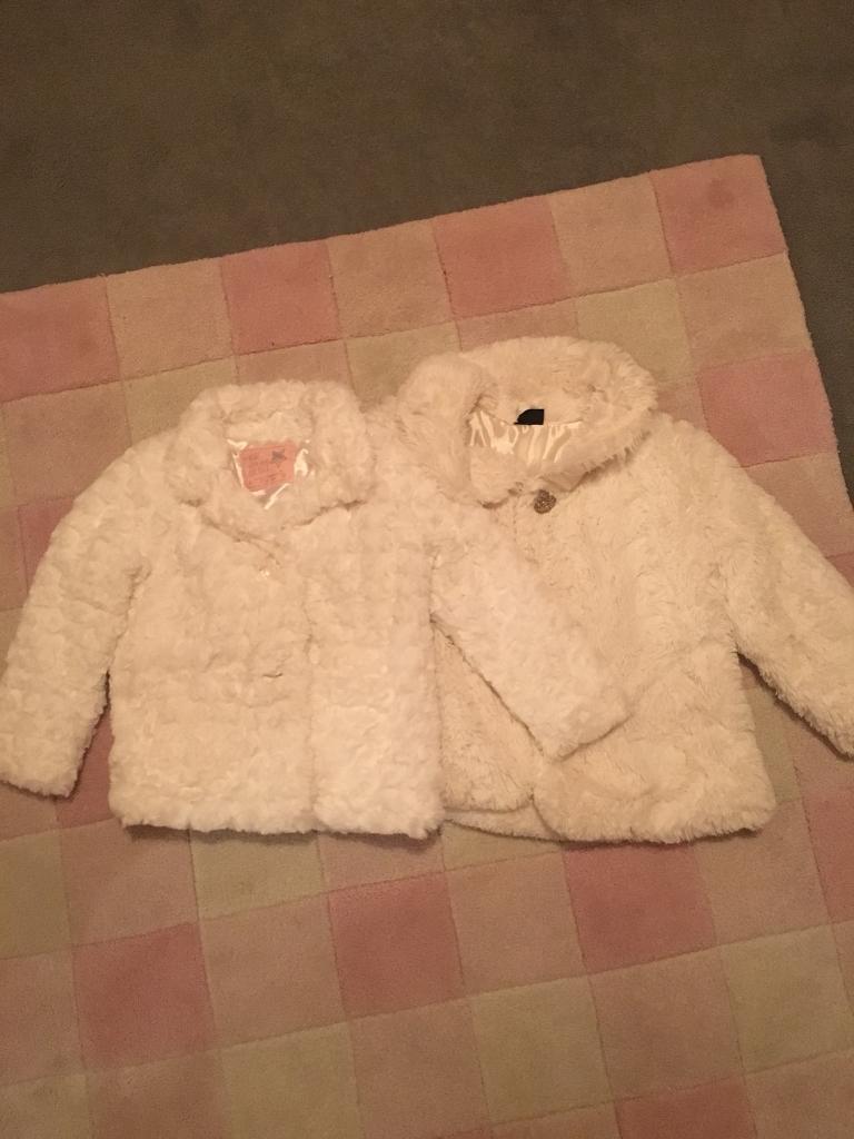 Girl's age 2-3 coats