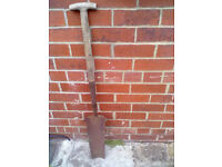 Garden Digging Spade - Rounday Park Leeds - Can Deliver