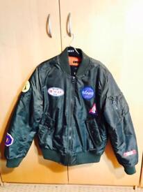 Zara space jacket