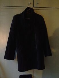 comptoir des cotonniers coat size medium