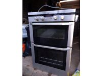 AEG Built in double electric fanned oven