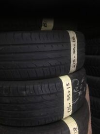 215/55/18 large selection continental tyres