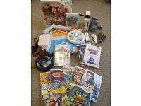Nintendo Wii Console + Controller + Skylanders + Dance Mat + 11 Massive Games + Lots More
