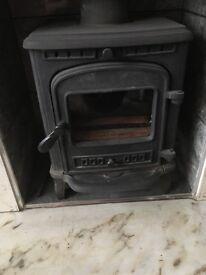 Wolverton multi fuel stove
