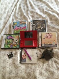 Nintendo D.S with games