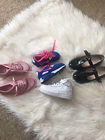 Infants designed shoe bundle