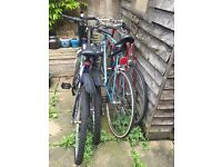 4 bikes for £100