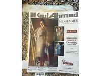 Original GUL Ahmed LSM MARIA B single embroidered Kuri shirts amazing offers