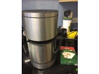 Marks and Spencer 11835 Electric Filter Coffee Machine 1.8l brushed aluminium