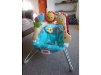 Fisherprice baby bouncer 2 in 1 chair