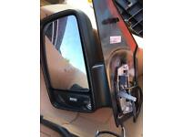 Merc sprinter door mirrors electric nearly new pair