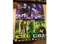 CSI DVD box sets