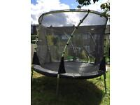 10ft Plum Whirlwind Trampoline and Enclosure