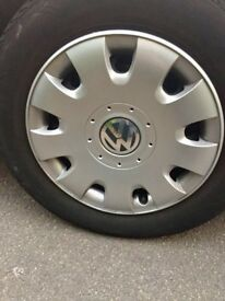 Volkswagen genuine car wheel with One Tyre
