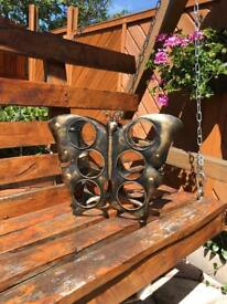 Butterfly 6 bottle wine rack