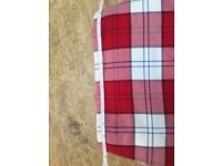 Red Lennox Tartan Kilt Outfit