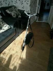 Electric zipper scooter