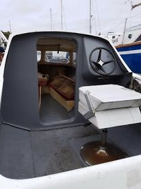 Microplus boat, trailer and outboard
