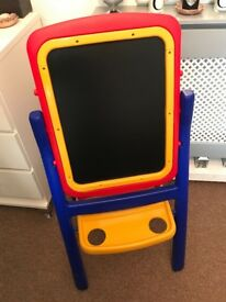 Children's double sided easel