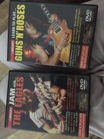 The eagles guns and roses dvds learn to play