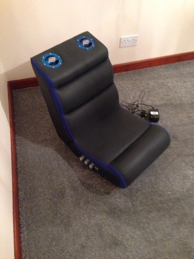 Pyramat Pm220 Sound Rocker Gaming Chair Seat In Aberdeen