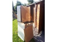 Top and bottom kitchen cupboard unit for sale with work top