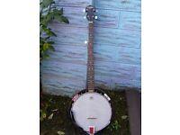 Banjo 5 string made in korea - Countryman make
