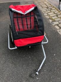 Bicycle trailer/carrier