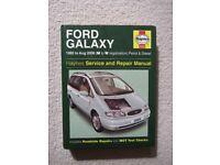 HAYNES CAR MANUAL FORD GALAXY 1995-2000