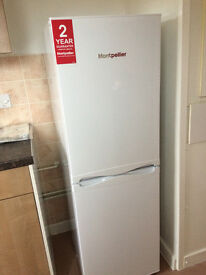 New Fridge Freezer MONTPELLIER, (A+ Rated), White.