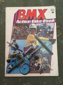 BMX vintage book. 1980s