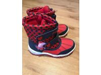 Peppa Pig Snow Boots Size 10