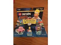 Lego dimensions simpsons level pack- brand new still sealed
